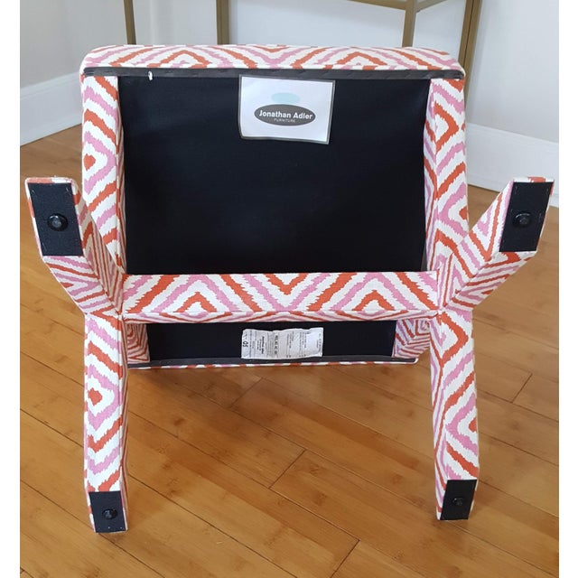Textile Jonathan Adler X Bench For Sale - Image 7 of 8