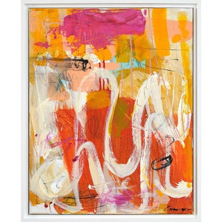"""Lesley Grainger """"Lazy Days"""" Original Abstract Painting Preview"""