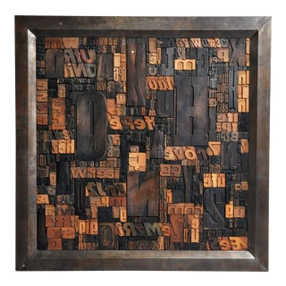 """""""Les Lettres"""" Contemporary Art Work by Raoul W. For Sale"""