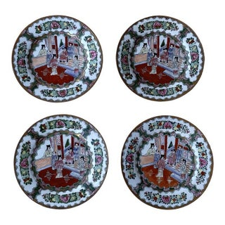 19th Century Imari Plates - Set of 4 For Sale