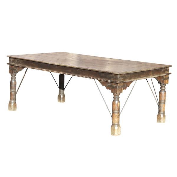 Asian 19th C. Takhat Table For Sale - Image 3 of 7