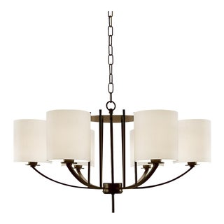 Art Deco Glasgow Bronze Pendant Light