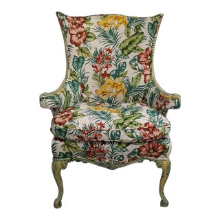 Early 20th Century Tropical Lounge Chair For Sale