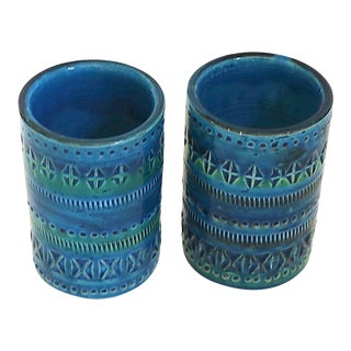 1970s Diminutive, Flavia Montelupo, Bistossi Vases - a Pair For Sale
