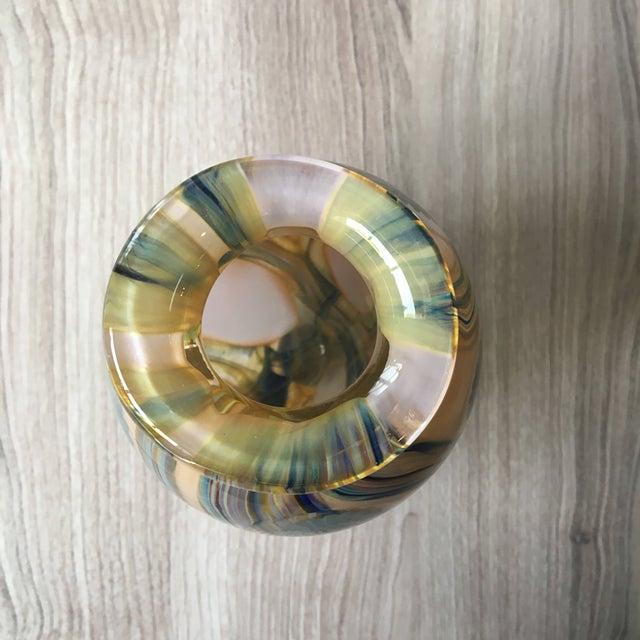 2006 Robert Eickholt Studio Art Glass Vase For Sale - Image 5 of 7