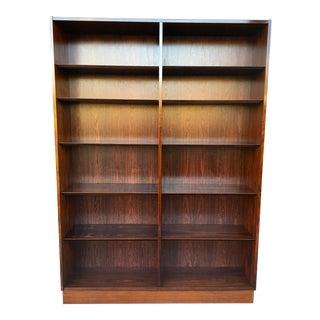 1960s Vintage Poul Hundevad Danish Modern Rosewood Bookcase