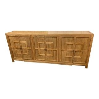 Contemporary Asian Style Natural Key Cabinet For Sale