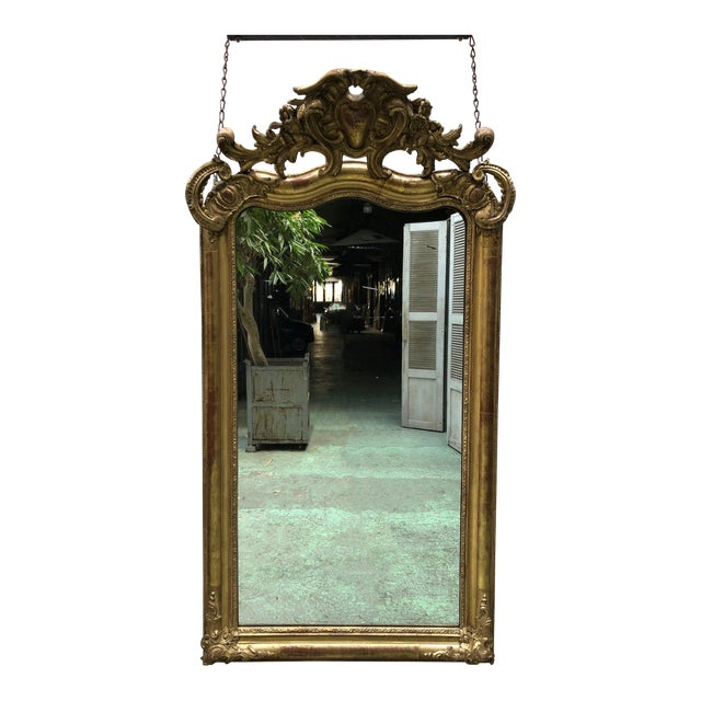 Special 19th Century Mirror From the South of France For Sale