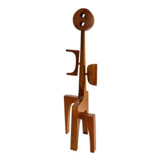 """Female #5"" Wood Sculpture by Adam Henderson"