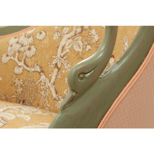 French Style Serenade Chaise Lounge For Sale In Tampa - Image 6 of 8