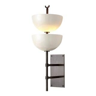 Small Gilles Wall Sconce With Powder Coated Metal Shades by Svda For Sale