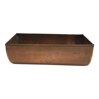 Turkish Copper Planter For Sale