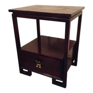 1950s Vintage Paul Frankl for Johnson Furniture Side Table For Sale