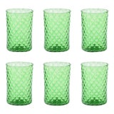 Image of Rosemary Mandala Drinking Glass - Set of 6 For Sale