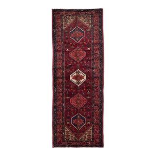 """HAMADAN Vintage Persian Rug, 3'6"""" x 9'9"""" feet"""
