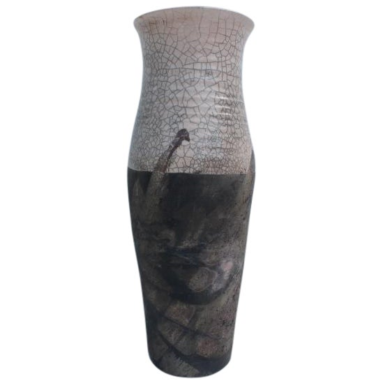 Vintage Crude Abstract Vase Chairish