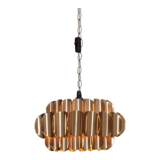 Brass Pendant Lamp by Hans-Agne Jakobsson For Sale