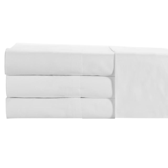 St. Moritz - 400 Fitted Sheet Cal. King - White For Sale