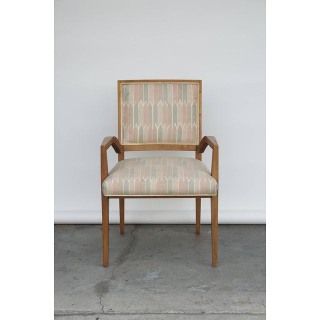 Set of Six Elegant Mid-Century Modern Armchairs and Chairs For Sale - Image 9 of 9