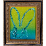 Image of Hunt Slonem Untitled Bunny Original Painting For Sale