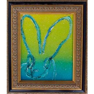 Hunt Slonem Untitled Bunny Original Painting For Sale