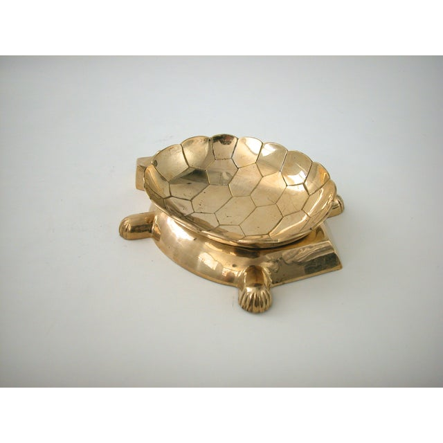 Vintage Brass Turtle Bowl - Image 7 of 8