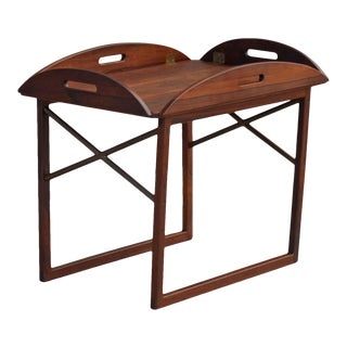 Svend Langkilde Tray Table in Rosewood by Illums Bolighus in Denmark For Sale