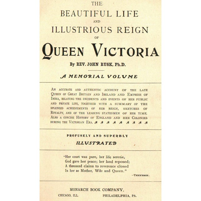 The Illustrious Reign of Queen Victoria Book - Image 2 of 4