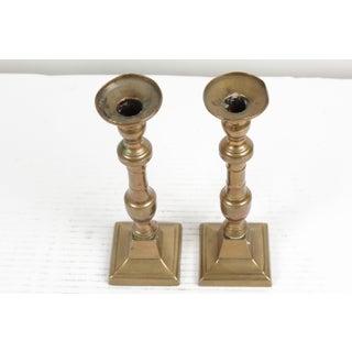 Antique Copper Candlesticks - a Pair Preview