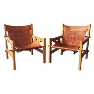South American Safari Chairs - A Pair