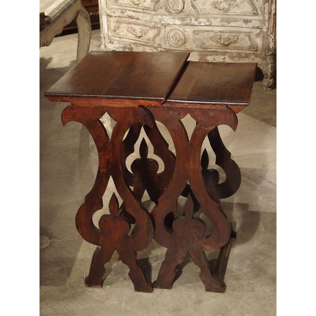 Pair of Antique Italian Nesting Tables, C. 1900 For Sale - Image 11 of 13