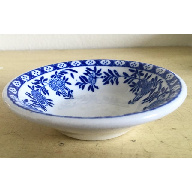 Chinoiserie Blue & White Trinket Dish - Image 3 of 6
