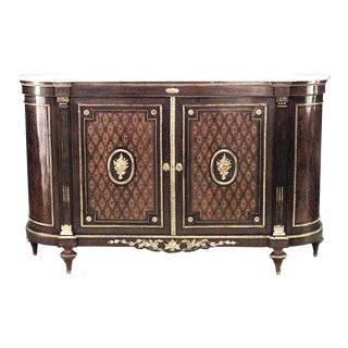 French Louis XVI Style '19th Century' Sideboard Cabinet For Sale