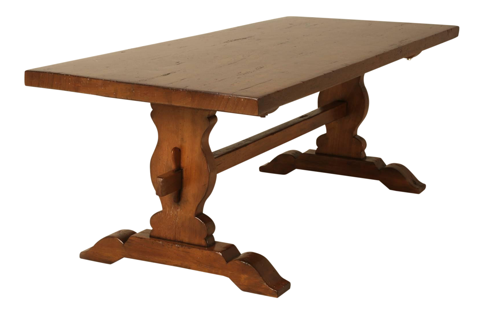 Delicieux The Only French Trestle Table We Have Ever Seen Made From Solid Mahogany  And Looks To
