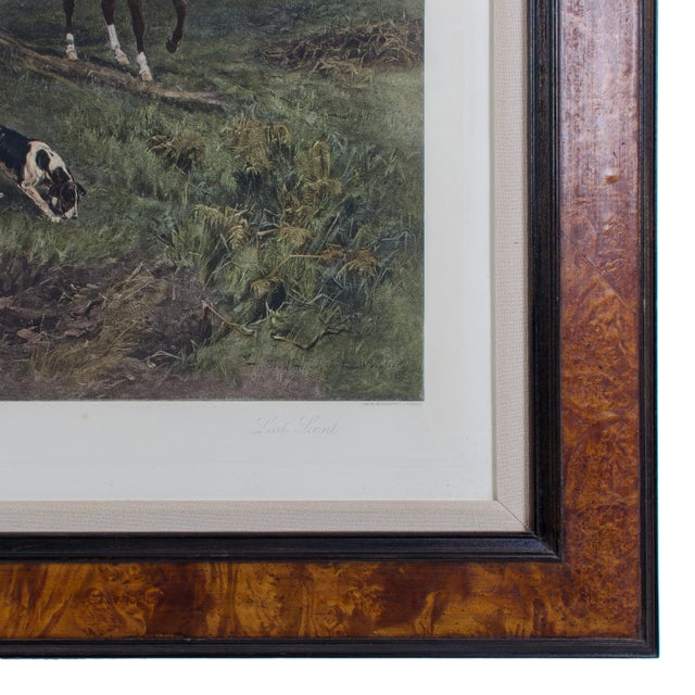"""Lost Scent"" Hunt Scene Intaglio Print After Heywood Hardy For Sale - Image 4 of 5"