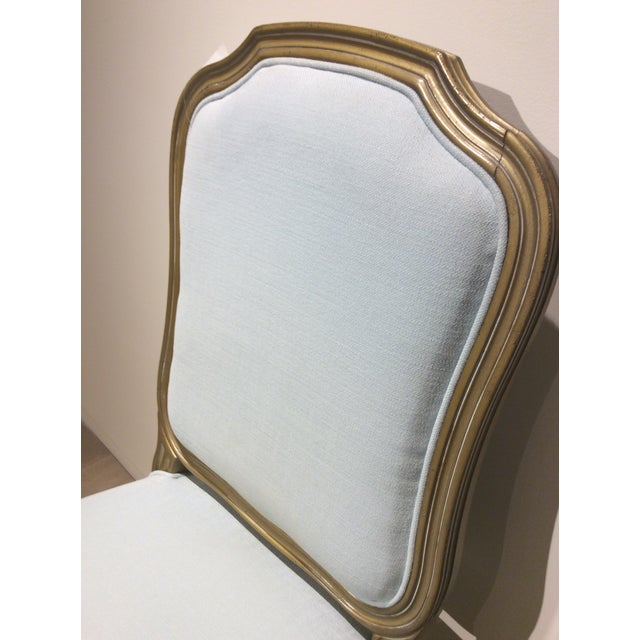 Upholstered Pompadour Side Chair - Image 4 of 5