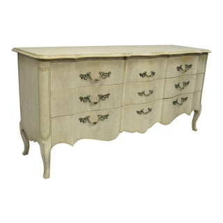 John Widdicomb French Provincial Louis XV Style Triple Dresser For Sale
