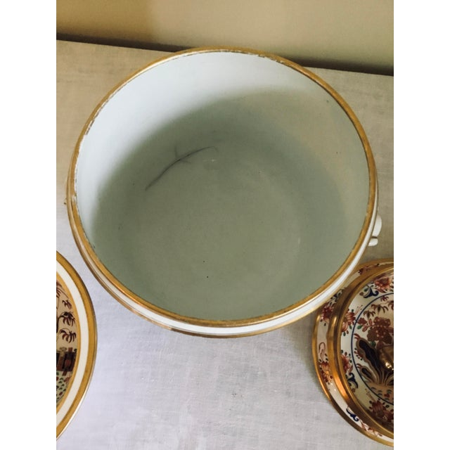 White 1800s Spode Fruit Cooler/Ice Pail For Sale - Image 8 of 12