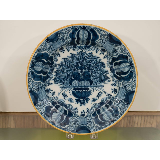 Early 19th Century Peacock Plate For Sale - Image 5 of 11