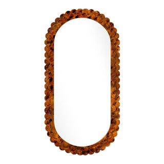 Fleur Home x Chairish Dauphine Mirror in Tortoise, 42x84 For Sale