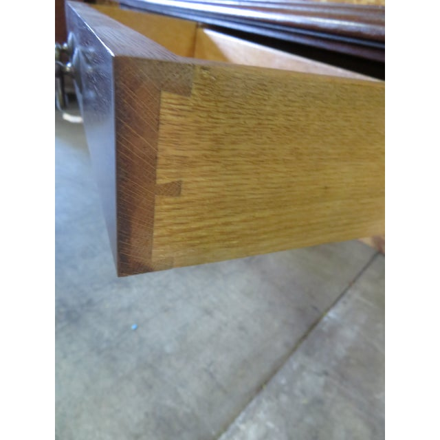 Italian Walnut Console Table For Sale - Image 5 of 6