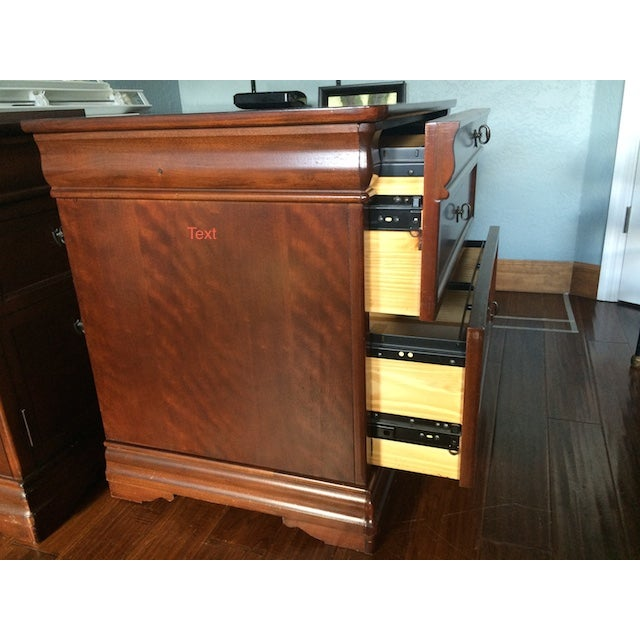 Traditional Style File Cabinet/Credenza - Image 6 of 7