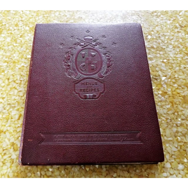 1930s Leather Bound Grocery Store Cookbook - Image 2 of 9