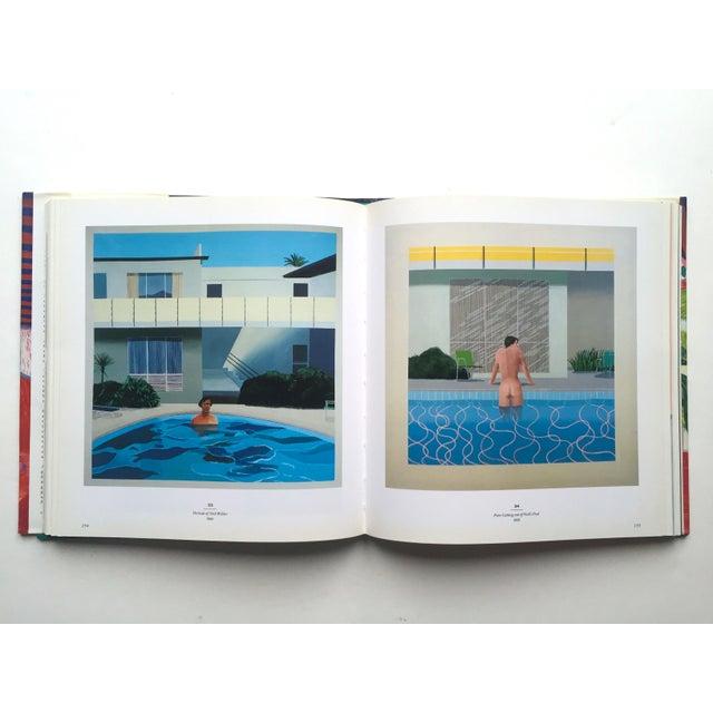 "Blue "" David Hockney a Retrospective "" 1st Edtn Vintage 1988 Collector's Hardcover Art Exhibition Book For Sale - Image 8 of 12"