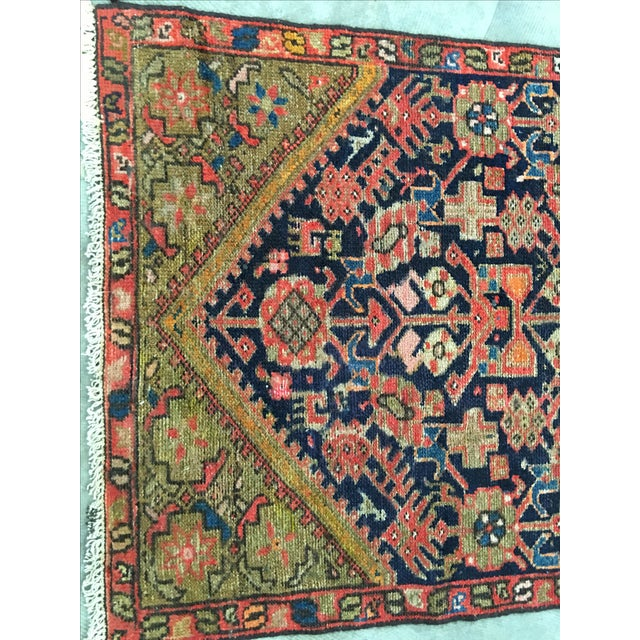 Antique Persian Malayer Runner - 2′5″ × 10′11″ - Image 3 of 8
