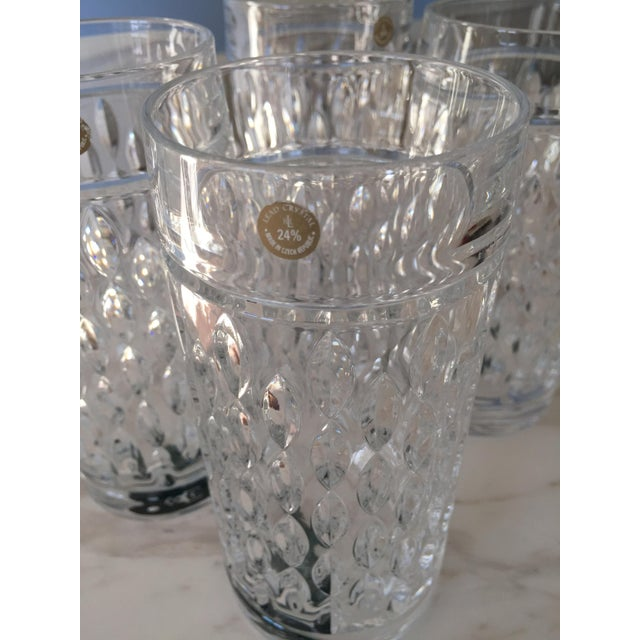 Ralph Lauren Aston Highball Crystal Glasses - Set of 4 For Sale - Image 5 of 7
