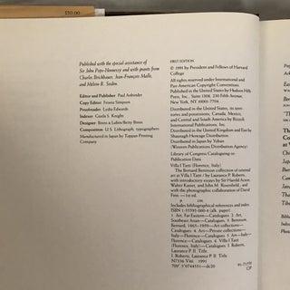 "1991 ""The Bernard Berenson Collection of Oriental Art"" First Edition Museum Book Preview"