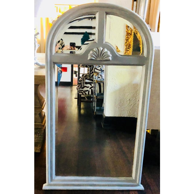 Georgian Gray Mirror For Sale In Miami - Image 6 of 6