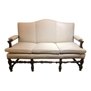 French Transitional Regency Period Sofa For Sale