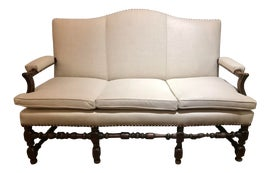 Image of Wood Settees